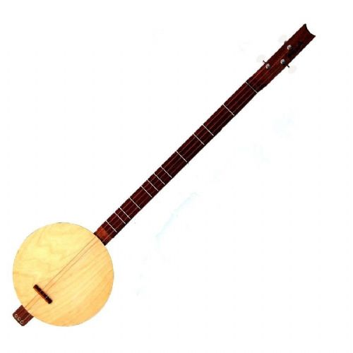 Astons Banjo Strum Stick Dulcimer 3 String Acoustic Open Back